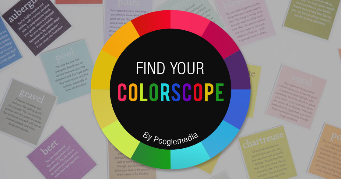 Find your Colorscope by Poogle Media