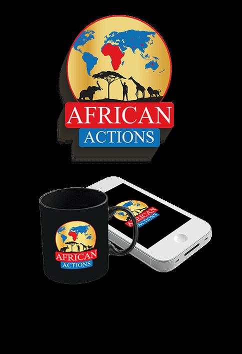 African Actions - LOGO DESIGN PORTFOLIO