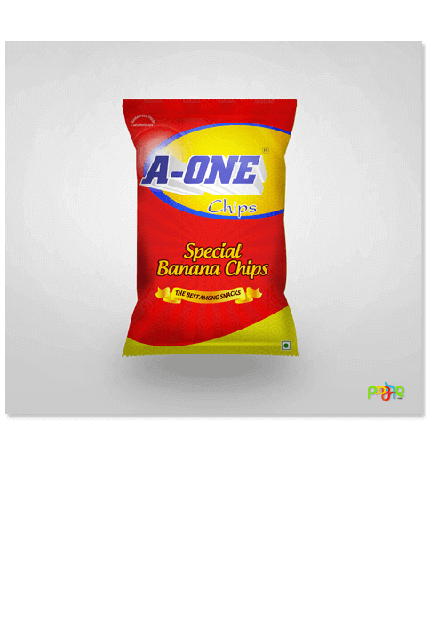A-one chips - Print Design Work