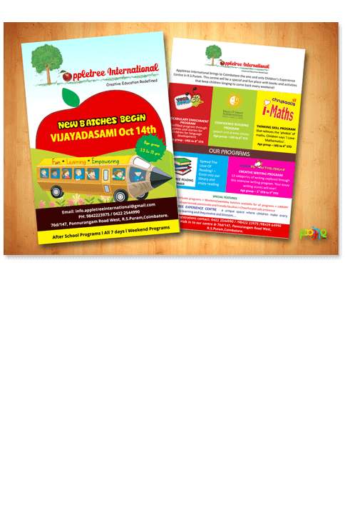 Apple tree international - Print Design Work
