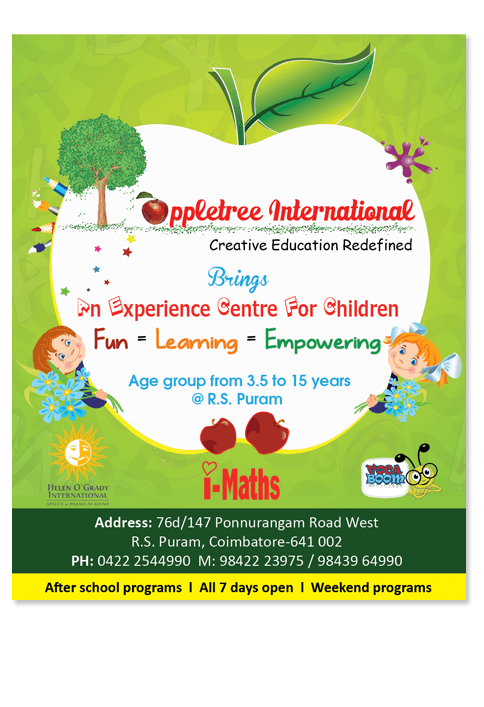 Apple tree international - ADVERTISEMENT DESIGN WORK