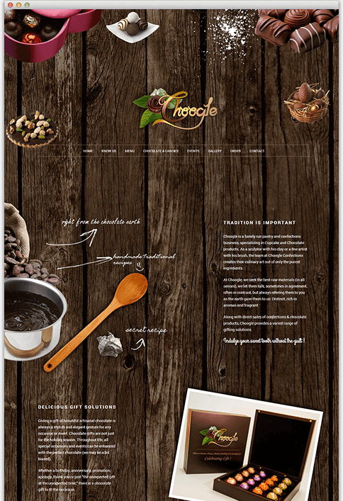 Choogle - WEB DESIGN WORK