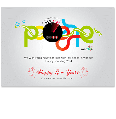 New Year 2014 - Doodle Design Work