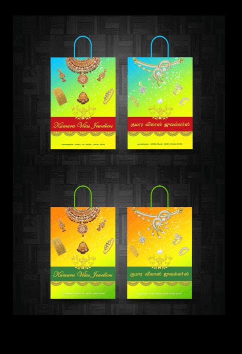 Kumara Vilas Jewellers - Print Design Work