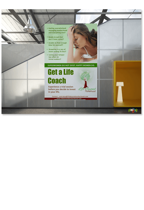 LBM poster - Print Design Work