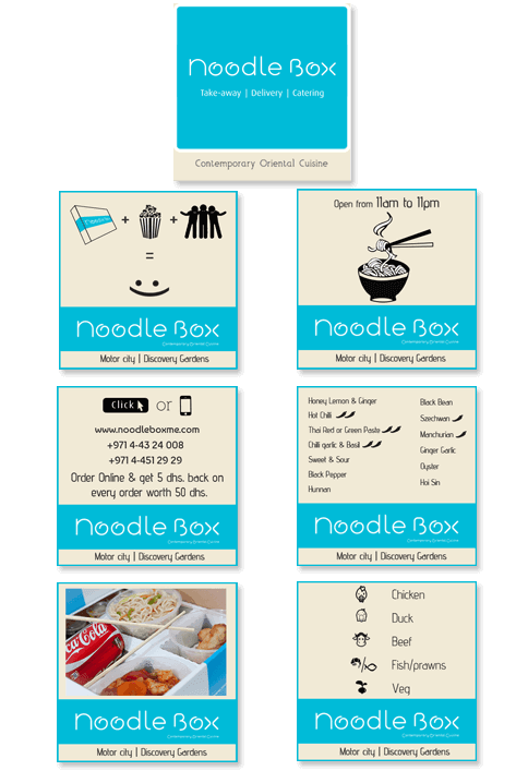 Noodle Box - ADVERTISEMENT DESIGN WORK