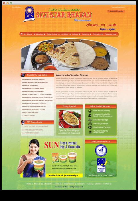 Sivestar Bhavan - WEB DESIGN WORK