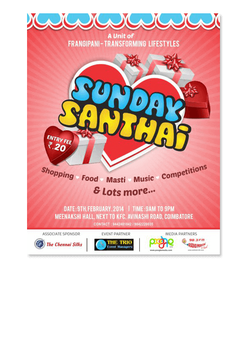 Sunday Santhai - ADVERTISEMENT DESIGN WORK