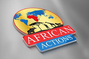 African Actions - LOGO DESIGN WORK
