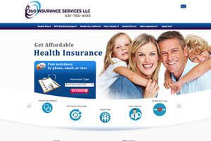 360 Insurance Services LLC - WEB DESIGN WORK