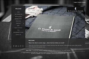 D.Vaish & Sons - WEB DESIGN WORK