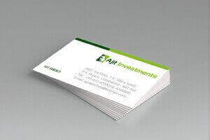 Ajit Investments - Identity Design Work
