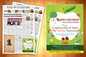 Apple tree international - Print Design Work