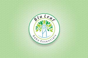 Blu Leaf Logo - LOGO DESIGN PORTFOLIO