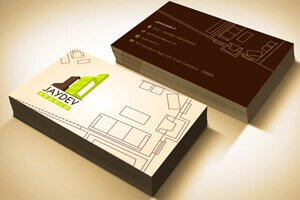 Jaydev Bussiness Card - Identity Design Work