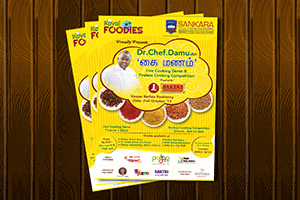 Kovai foodies poster - Print Design Work
