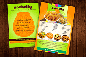 Potbelly poster - Print Design Work