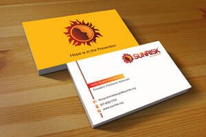 Sunrisk Business Card - Identity Design Work