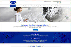 Marc Software Pvt Ltd - WEB DESIGN WORK