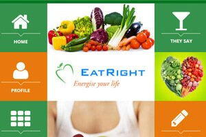 Eatright - WEB DESIGN WORK