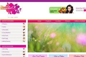 Flowerkart.com - WEB DESIGN WORK