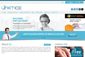 Linktice - WEB DESIGN WORK