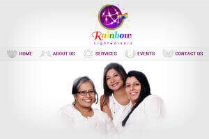 Rainbow light workers - WEB DESIGN WORK