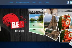 Red Inter-Corporate Photography Contest - WEB DESIGN WORK